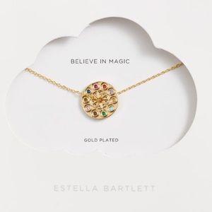 Estella Bartlett Multi Color Kaleidescope Necklace